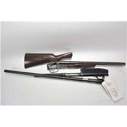 Lot of Two Firearms - Boito Model Coach Gun .12 Ga 3  Side by Side Hammerless Shotgun w/ 20  bbls [