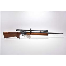 "B.S.A. Martini Model International Mk II .22 LR Cal Single Shot International Target Rifle w/ 29"" he"