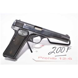 Prohib 12 - 6 - F.N. Browning Model 1922 7.65 MM Cal 8 Shot Semi Auto Pistol w/ 114 mm bbl [ Nazi ma
