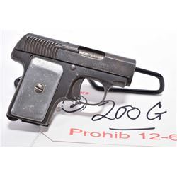 Lot of Two Prohib 12 - 6 Handguns - Forehand Arms Co. Model New Model Automatic Ejecting .32 S & W C