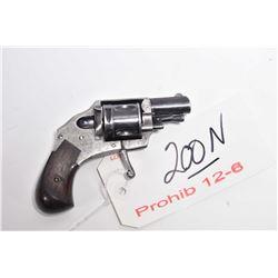 Prohib 12 - 6 - Unknown Model Revolver .38 S & W Cal 5 Shot Revolver w/ 42 mm bbl [ fading blue fini
