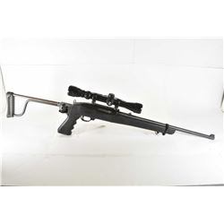 "Ruger Model 10/ 22 Carbine .22 LR Cal Mag Fed Semi Auto Carbine w/ 18 1/2"" bbl [ blued finish, barre"