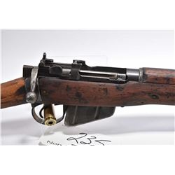 Lee Enfield ( Long Branch Dated 1944 ) Model No. 4 Mark 1* .303 Brit Cal Full Wood Military Bolt Act