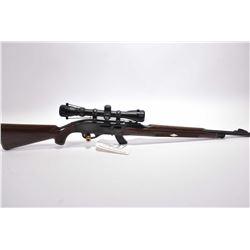 "Remington Model 10 C .22 LR Cal Mag Fed Semi Auto Rifle w/ 19 1/2"" bbl [ blued finish, barrel sights"
