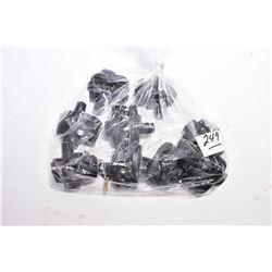 Bag Lot : Nine Trigger Locks [ keyed the same, with two keys ]