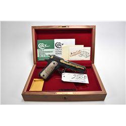 Restricted Handgun - Colt Model Government Mark IV Series 70 Alberta Diamond Jubilee Commemorative (