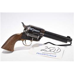 Restricted Handgun - Colt Model Cowboy ( 3 rd Gen ) .45 Colt Cal 6 Shot Revolver w/ 140 mm bbl [ blu