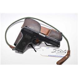 Restricted Handgun - Tokarev Model TT 33 7.62 x 25 Tokarev Cal 8 Shot Semi Auto Pistol w/ 115 mm bbl
