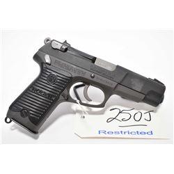 Restricted Handgun - Ruger Model P85 .9 MM Luger Cal 10 Shot Semi Auto Pistol w/ 114 mm bbl [ flat b