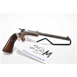 Restricted Handgun - Stevens Model Diamond No. 43 First Issue .22 LR Cal One Shot Pistol w/ 152 mm b
