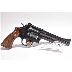 Restricted Handgun - Smith & Wesson Model 28 - 2 .357 Mag Cal 6 Shot Revolver w/ 152 mm bbl [ blued