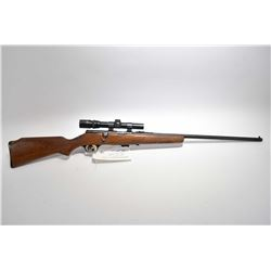 """Savage Model 4C Deluxe .22 LR Cal Mag Fed Bolt Action Rifle w/ 24"""" bbl [ blued finish, starting to f"""