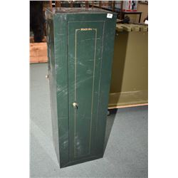 "Green Metal "" Stak On"" Gun Locker w/ key"