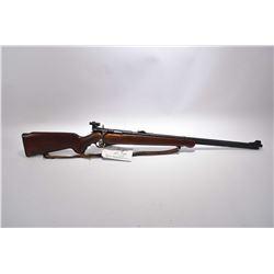 "Mossberg Model 146 B - A .22 LR Cal Tube Fed Bolt Action Rifle w/ 26"" bbl [ blued finish, barrel sig"