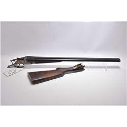 "Unknown Spanish Model Side by Side .16 Ga ? Break Action Shotgun w/ 27 1/2"" bbls [ fading blue finis"