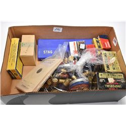 Box Lot : Stag Gun Cleaning Kit - Approx. 17 Rnds .303 Brit Cal Ammo - One Box Imperial .12 Ga Shot