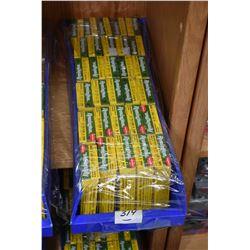 "Blue Plastic Tray - Thirty Boxes ( 5 rnds per ) Various Buckshot .12 Ga 2 3/4"" Approx. Retail $ 6.00"