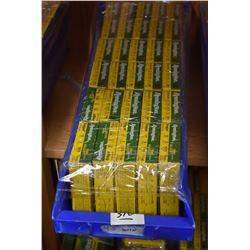 Blue Plastic Tray : Twenty Five Boxes ( 5 rnds ) Remington .12 Ga [ mostly Buckshot approx. 6 are sl