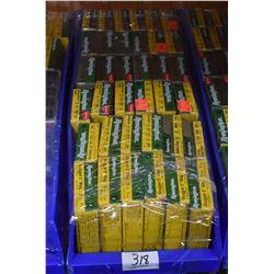 Blue Plastic Tray : Thirty Six Boxes ( 5 rnds ) Remington .12 Ga Slugger - Rem Sabot Slug .12 Ga - R