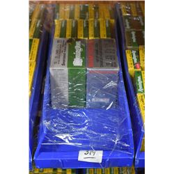 "Blue Plastic Tray : Eleven Boxes ( 5 rnds ) Remington .12 Ga 3 1/2"" Mag Buckshot - 1 Box Rem .12 Ga"