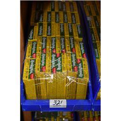 "Blue Plastic Tray : Thirty Six Boxes ( 5 rnds ) Remington 2 3/4"" Various Buckshot"