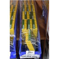 "Blue Plastic Tray : Thirteen Boxes ( 5 rnds ) .12 GA 3 1/2"" Mag Buck Shot Retail $ 12.00 Each"