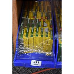 "Blue Plastic Tray - Thirty Five Boxes ( 5 rnds ) Remington .20 Ga 2 3/4"" Sabot Slug - Buck Hammer -"