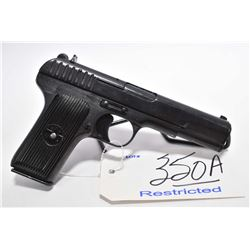 Restricted Handgun - Tokarev Model TT 33 7.62 MM Tokarev Cal 8 Shot Semi Auto Pistol w/ 115 mm bbl [
