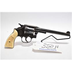 Restricted Handgun - Smith & Wesson Model 38 Hand Ejector M & P Victory Model Converted to .22 LR 6