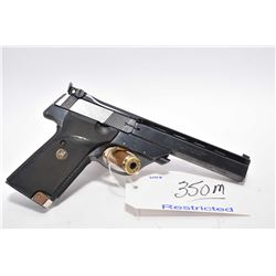 Restricted Handgun - High Standard Model Victor .22 LR Cal 10 Shot Semi Auto Pistol w/ 140 mm bbl [