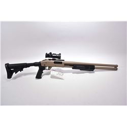 "Mossberg Model 500 .12 Ga 3"" Cylinder Bore Pump Action Shotgun w/ 20"" bbl [ tan finish, with U.T.G P"