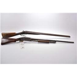 "Lot of Two Firearms : Remington Model 10 .12 Ga Pump Action Shotgun w/ 30"" bbl [ fading blue finish"