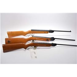 "Lot of Three Pellet Rifles : Raven Model 29 .177 Pellet Cal Rifle w/ 13 3/4"" bbl [ few marks and scr"