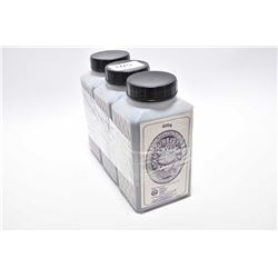 Pkg Lot : Three 500 Gram Plastic Bottles of Curtis's & Harvey's F ( Black Powder ) Gun Powder