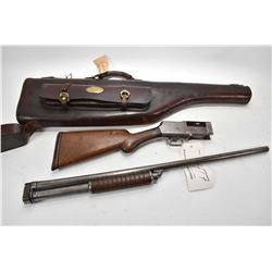 "Stevens Model Take Down ? .12 Ga Pump Action Shotgun w/ 30"" full choke bbl [ faded blue finish to gr"