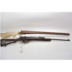 Lot of Two Firearms - Lee Enfield BSA Dated 1917 Model No.1 Mark III* .303 Brit Cal Sporterized Rifl