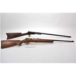 """Lot of Two Firearms : Savage Model 3D .22 LR Cal Single Shot Bolt Action Rifle w/ 24"""" bbl [ fading b"""