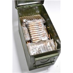 Green Metal Military Ammo Can w/ approx. 475 Rnds .308 WIn Cal Ammo