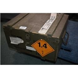 Wooden Crate : Full Case 7.62 x 43 Cal Ammo