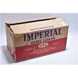 "Cardboard Case Lot : 500 Rnds Imperial CIL .20 Ga 3"" Magnum # 5 Shot Shot Shells"