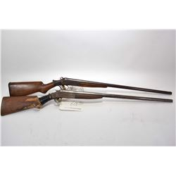 "Lot of Two Firearms - Hopkins & Allen Model Single Barrel .12 Ga Shotgun w/ 30"" bbl [ fading blue fi"