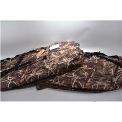 Lot of Two Portable Camo Toned Hunting Blinds by Ameristep [ orig cost over $ 200.00 each says consi