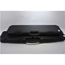 Lot ot Two Black Plastic Luggage Style Rifle Cases [ One Daniel Defense - One Unknown ]