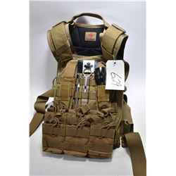 Body Armour Style Vest w/ access.