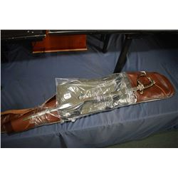 Bundle Lot : Two Brown Gun Cases - Two Flambeau Gun Cases [ sealed in plastic ] - Made in China U.S.