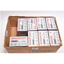 "Box Lot : 8 Boxes Winchester XPert Target Loads .12 Ga 2 3/4"" 7 1/2 Shot -"