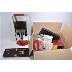 Lot of Two Boxes : Lee Load All - MEC Press - Various Loading Equipment - Powder Measure Kit - Shotg