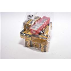 Bag Lot : Collector Ammo : Approx. Three Boxes ( 20 rnds per ) Dominion .44 - 40 Cal Ammo - 1 Box (