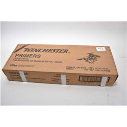 Box Lot : 5000 Winchester Large Pistol Primers