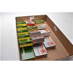 Tray Lot : Fifteen Boxes ( 5 rnds per ) Various Makers .12 Ga Buckshot - Slugs etc.